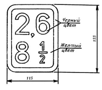 ГОСТ 25588-83 Контейнеры крупнотоннажные Маркировка