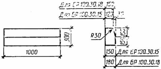ГОСТ 6665-91 Камни бетонные и железобетонные бортовые. Технические условия