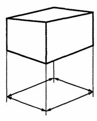 ГОСТ Р ИСО 3394-99 Тара транспортная жесткая прямоугольного сечения. Размеры