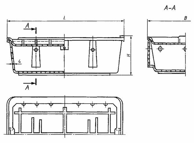 ГОСТ Р 51289-99 Ящики полимерные многооборотные Общие технические условия