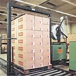 Средства скрепления тарно-штучных грузов в транспортных пакетах.</div srcset=