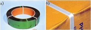 Скрепление пакетов тарно-штучных грузов