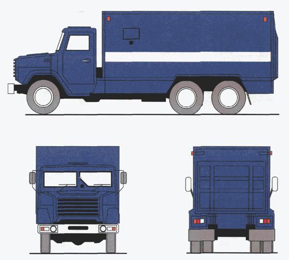 ГОСТ Р 52508-2005 Средства транспортные для перевозки денежной выручки и ценных грузов. Требования к цветографическим схемам, опознавательным знакам и надписям