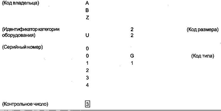 ГОСТ Р 52524-2005 (ИСО 6346:1995) Контейнеры грузовые. Кодирование, идентификация и маркировка